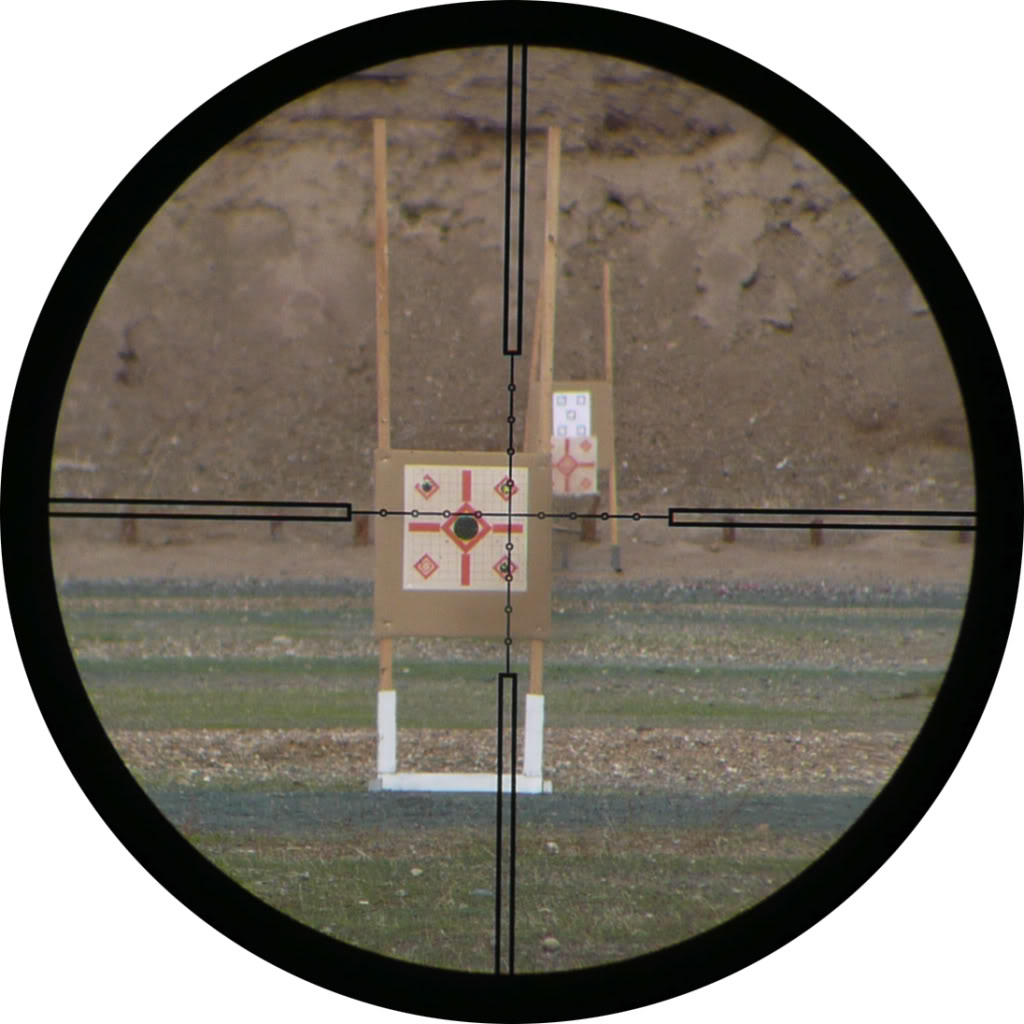 Nightforce illuminated Reticles