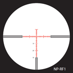 Nightforce NP Rf1 Reticle