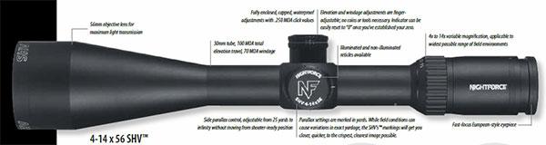 Nightforce SHV 4-14x56