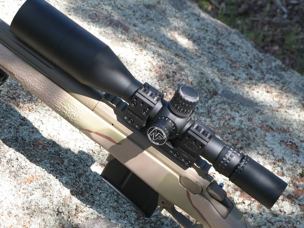 Nightforce NXS 3.5-15x50 riflescopes