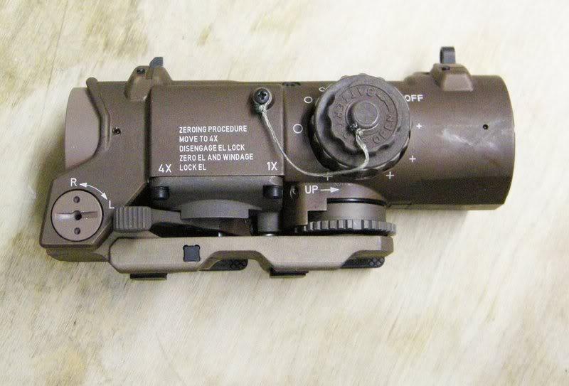 Completar equipo Elcan-scopes