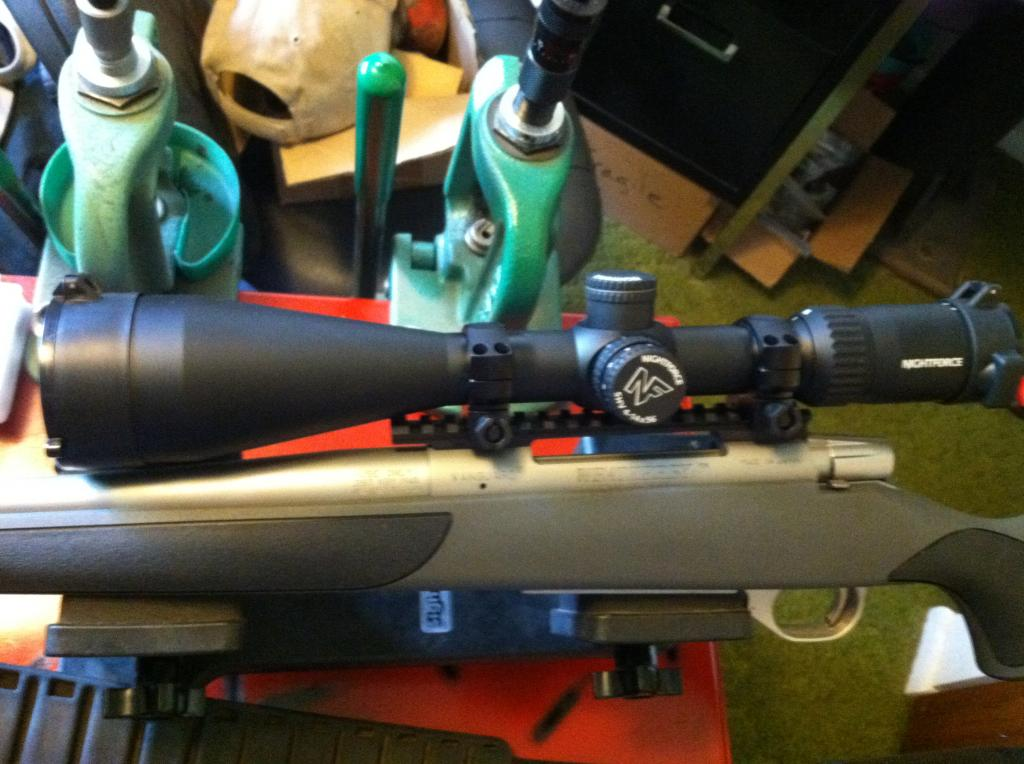 Nightforce SHV 4-14x56 rifle scope