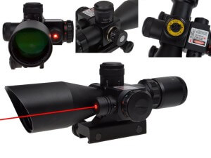 TMS® 2.5-10x40 Tactical Rifle Scope