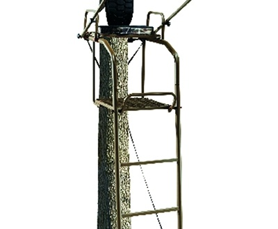 Field Amp Stream Outpost Ladder Stand With Realtree Treestand